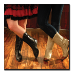 Learn how to dance The country western swing